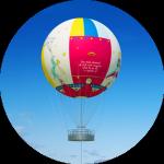 Ballon du Roi dans le Petit Prince