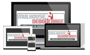 Site Internet Responsive: Compatible pour mobiles et tablettes